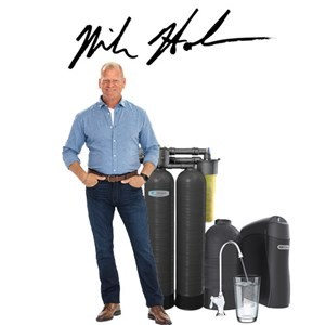 Mike Holmes with Kinetico Water Softener and K5 Drinking Water Station