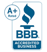 A+ Better Business Bureau Accredited Member